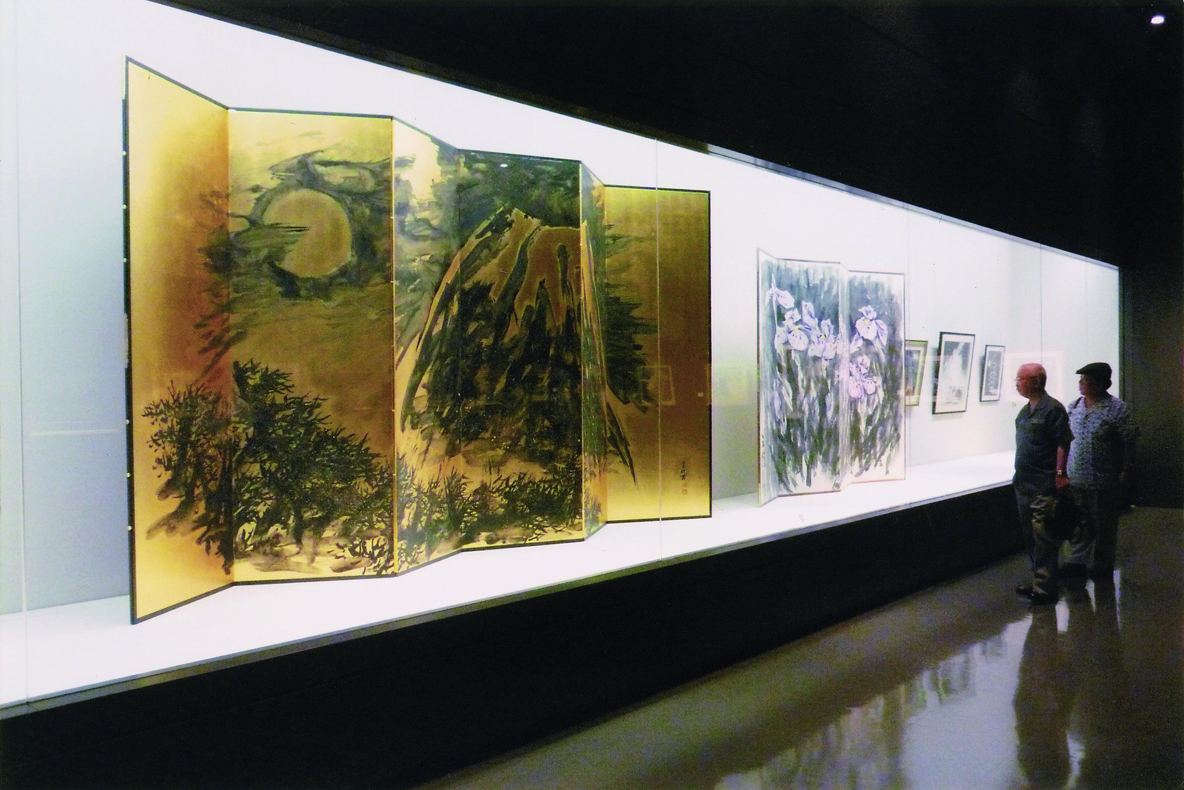 2009年沖縄県立美術館王昭個展にて